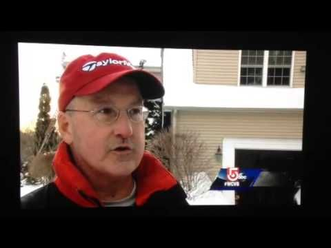 Newton Roofing Residential On WCVB 5 Boston Ice Dams