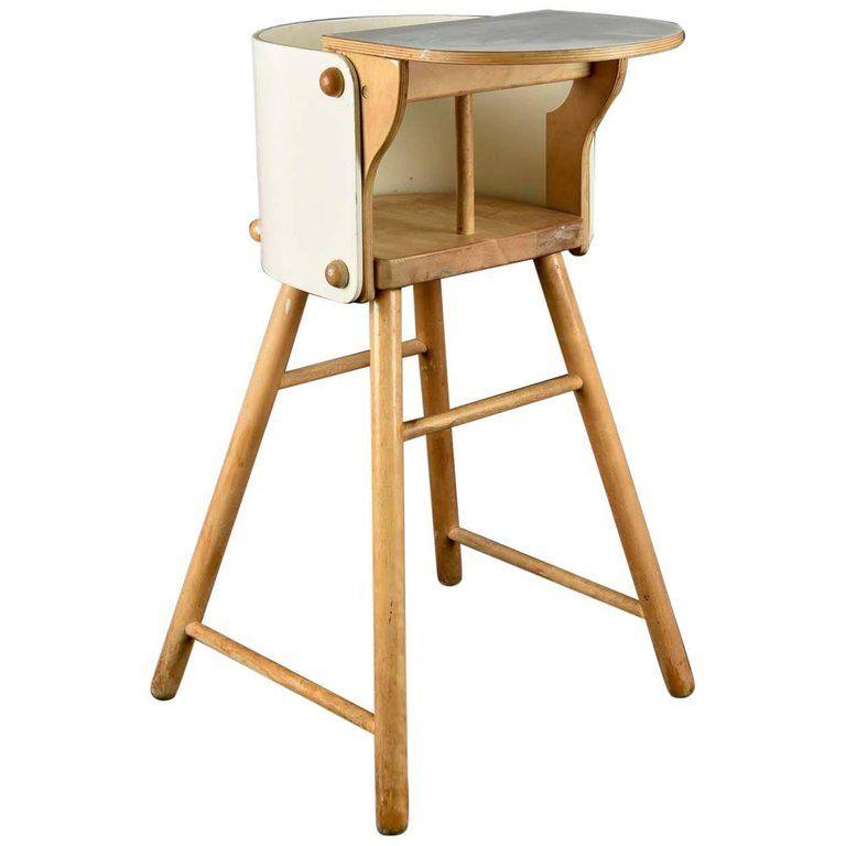Ben Af Schulten For Artek Model 616 Child S High Chair 1960s In 2020 Chair Modern Childrens Furniture High Chair