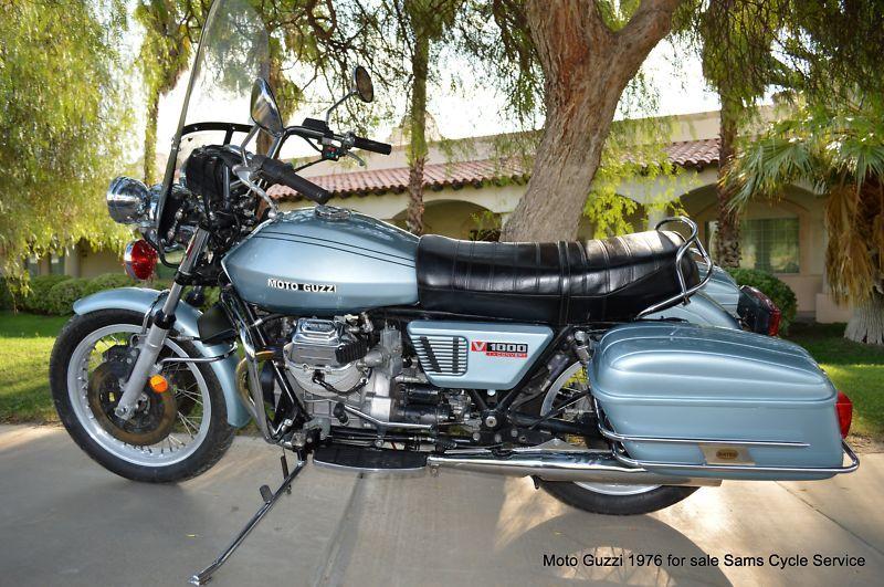 Moto Guzzi V 1000 I Convert Police In Moto Guzzi Ebay Motorcycles Motos
