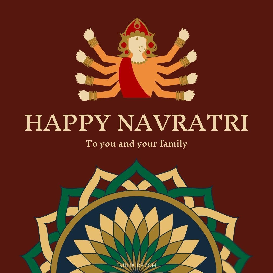 Happy Navratri To You And Your Family Hope This Festival Brings Happiness And Joy In Your Life May Navratriwishes Navratri Wishes Navratriwishes H In 2020 Happy Navratri Happy Navratri Wishes Navratri Wishes