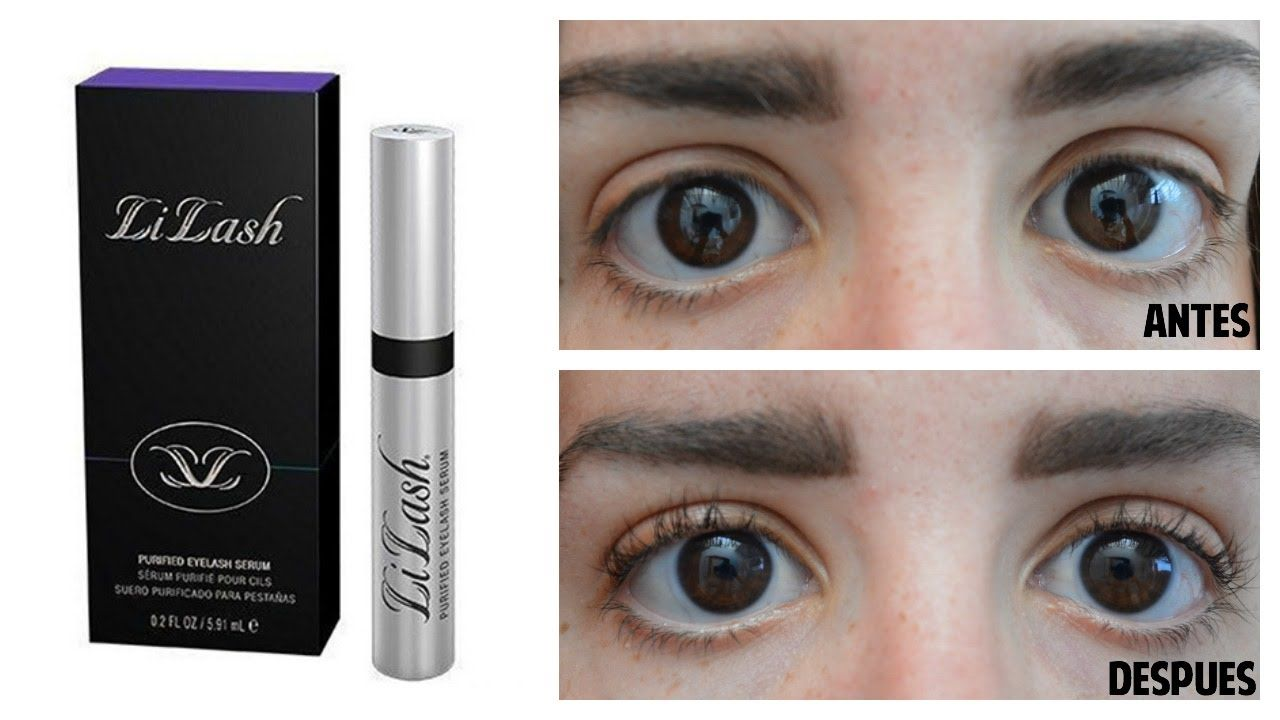 """LI LASH"" REVIEW PESTAÑAS LARGAS BEFORE/AFTER"