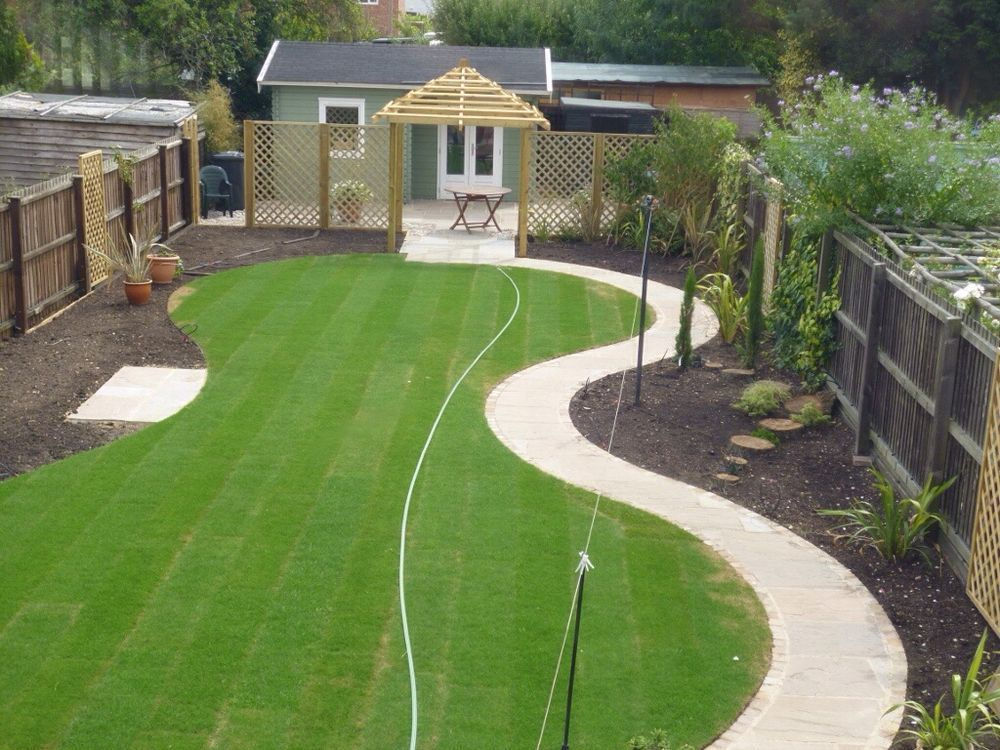 Beau Large Family Garden Design   Google Search