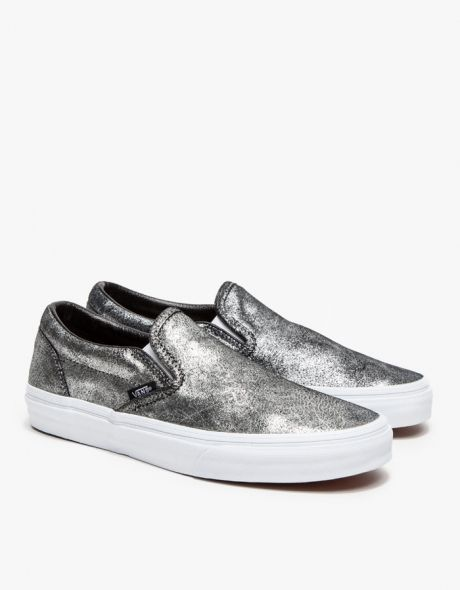 Classic Slip On in Metallic