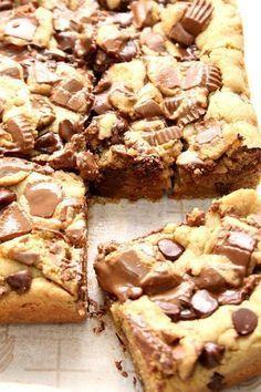Erdnussbutter Schokolade Reese's Bars   - Home Decor that I love -