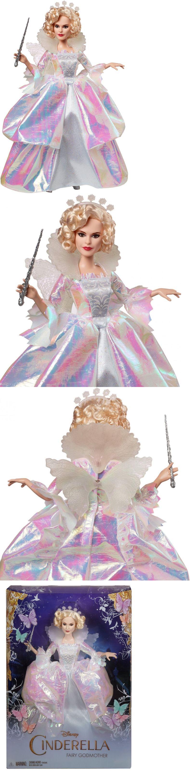 Cinderella wedding dress disney store  Cinderella  Disney Cinderella Fairy Godmother Doll ue BUY IT