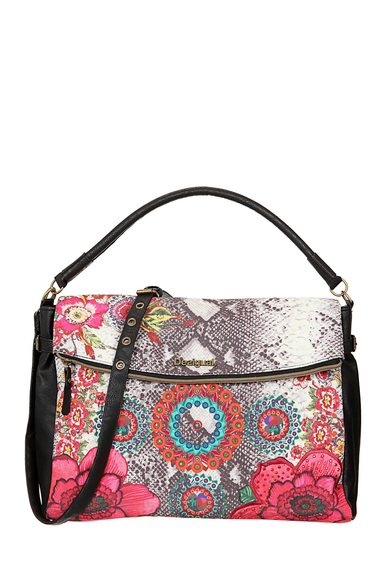 Petit sac de ville - 51x59d0 - Noir Desigual sur MonShowroom.com ... d62043666c1
