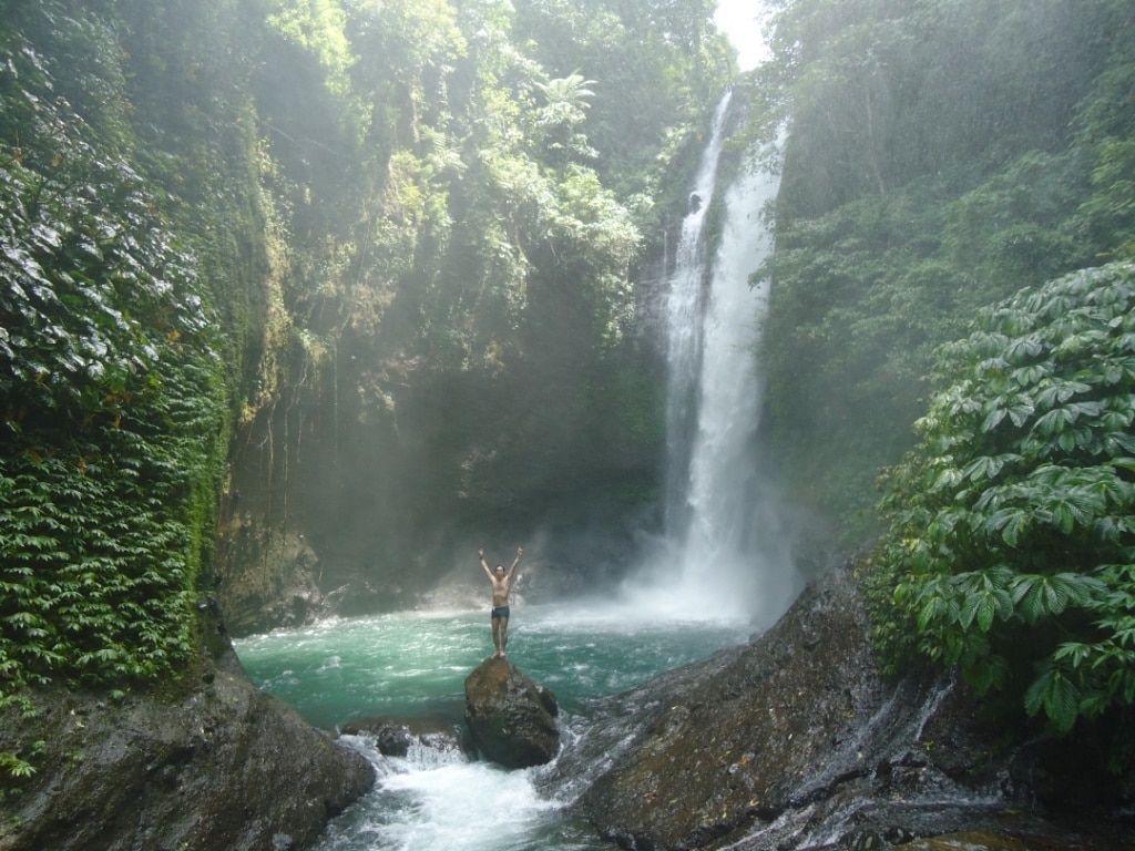 Waterfall Nature Hikes Waterfall, Garden waterfall, Bali