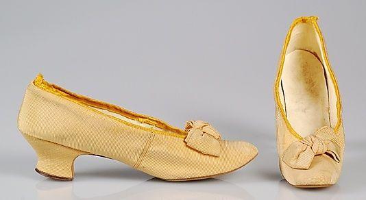Met: shoes, 1870s
