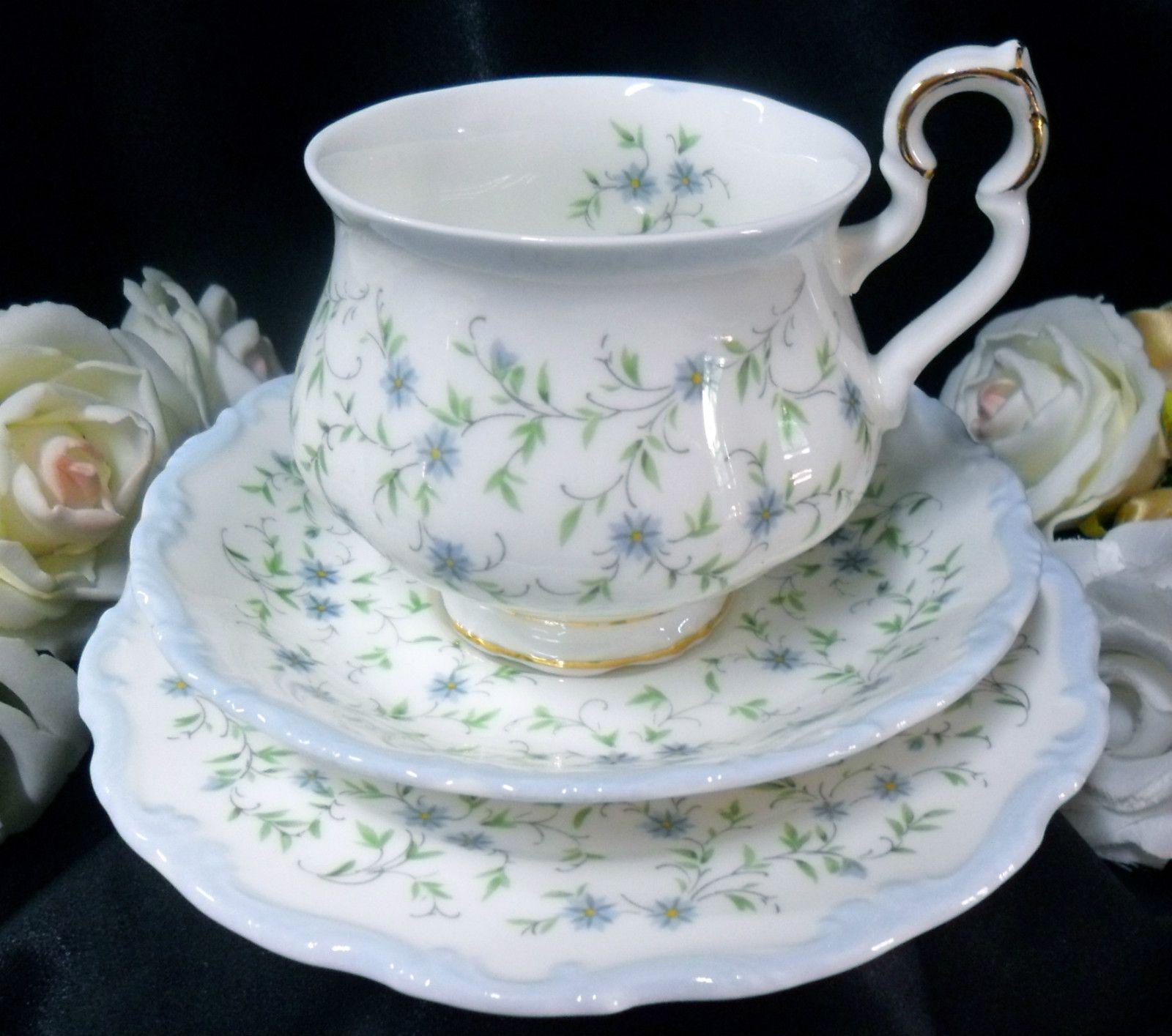 CAROLINE ROYAL ALBERT PART TEA SET SELECTION.
