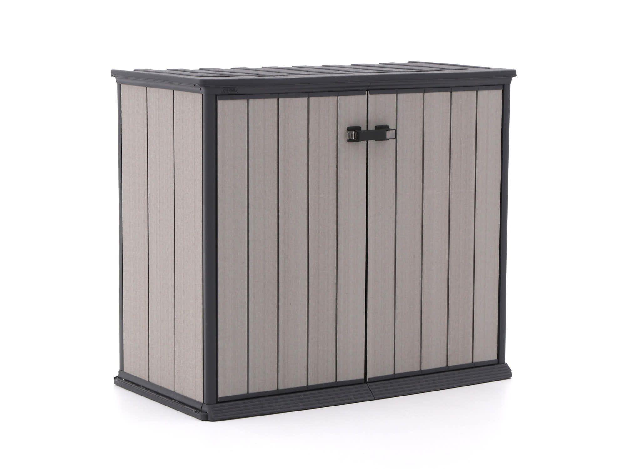 Universalbox Fur Das Einfache Und Trockene Lagern Von Gartenkissen Und Auflagen Farbe Fur Kunststoff Gartenmobel Aufbewahrung