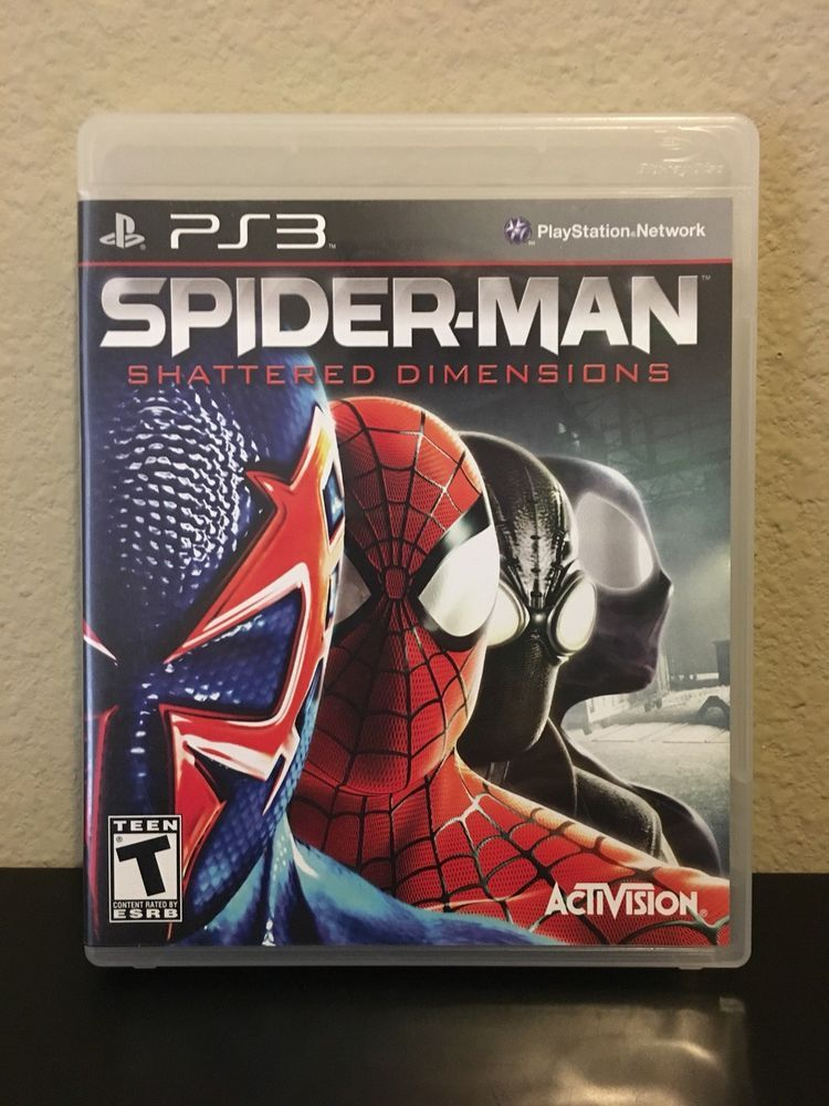 Spiderman shattered dimensions ps3 playstation 3 video