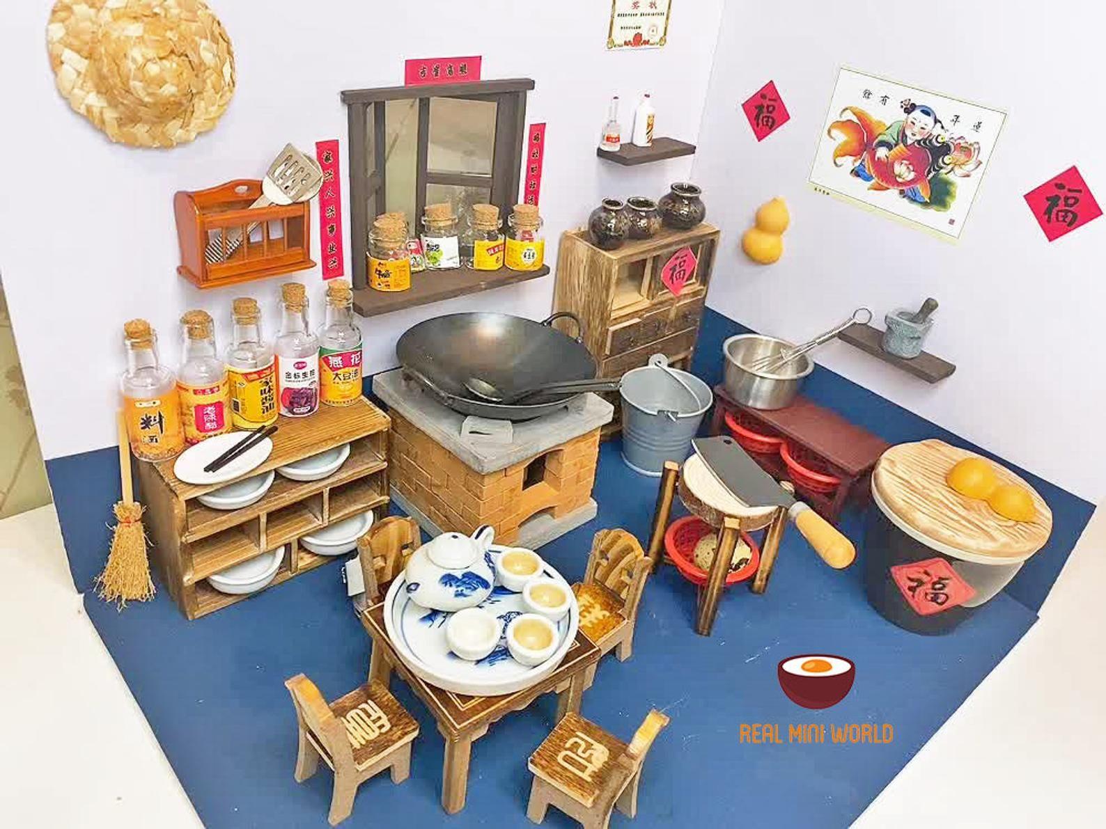 Tiny Kitchen Set That Works