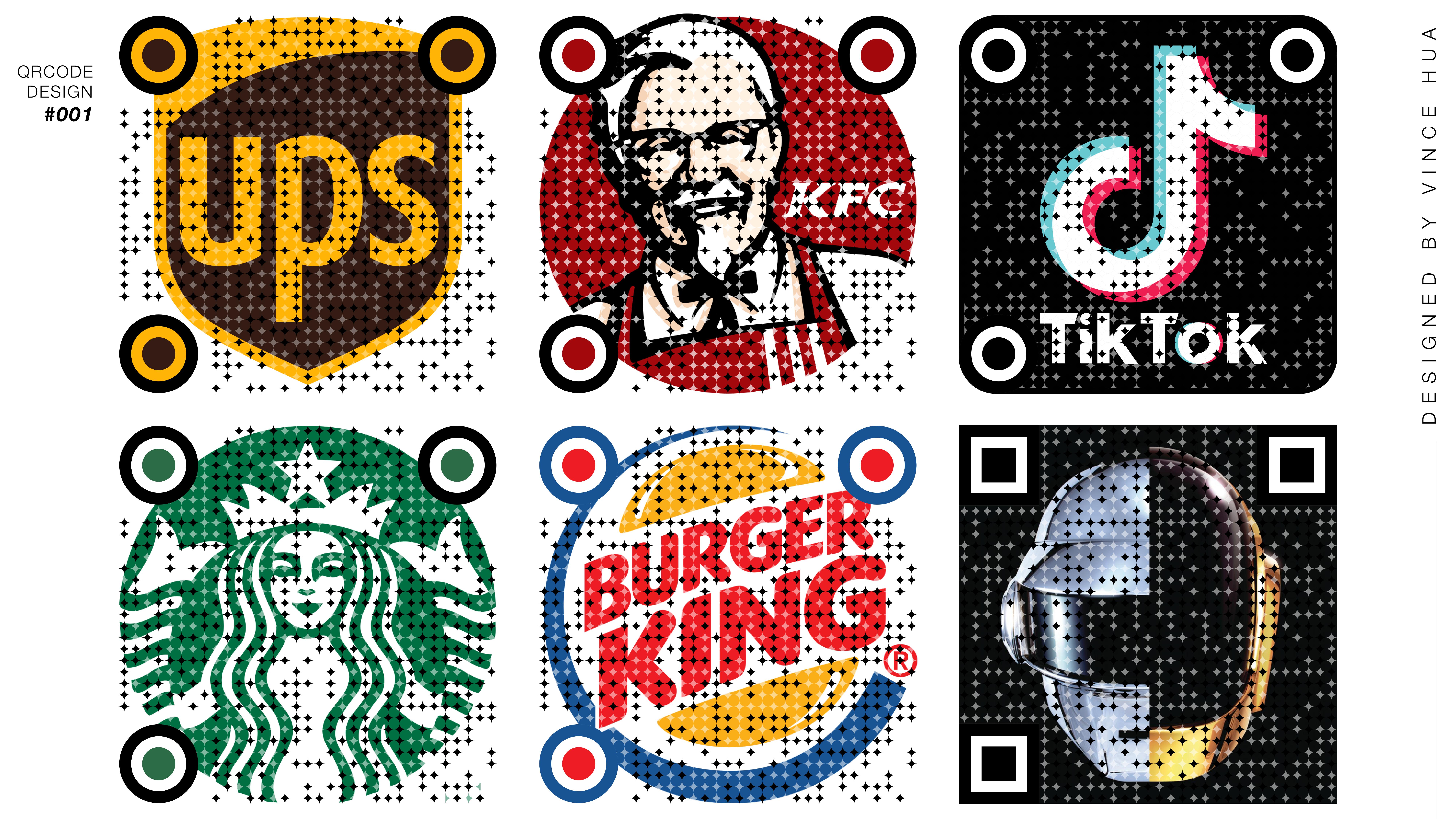 Qr Code Design Logo Branding Code Art Sticker Design Create Barcode