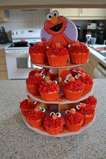 Elmo Themed 1 Year Old Birthday Party