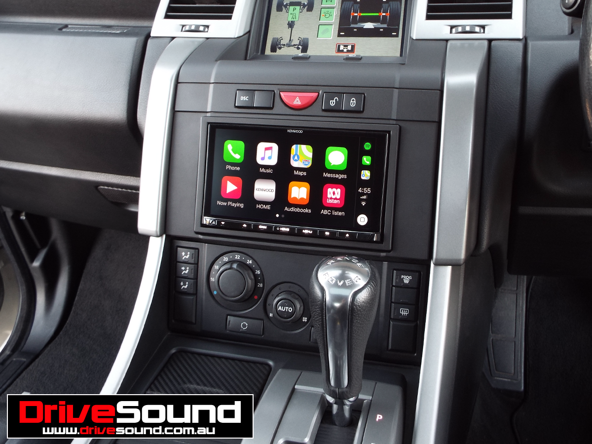 Range Rover Sport with Apple CarPlay installed by DriveSound