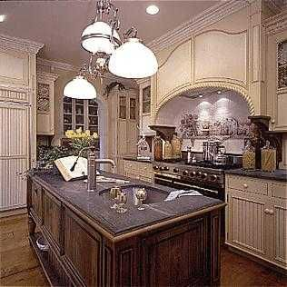 I love this Tudor style kitchen! Credit: Tudor Show Home Kitchen By The Old