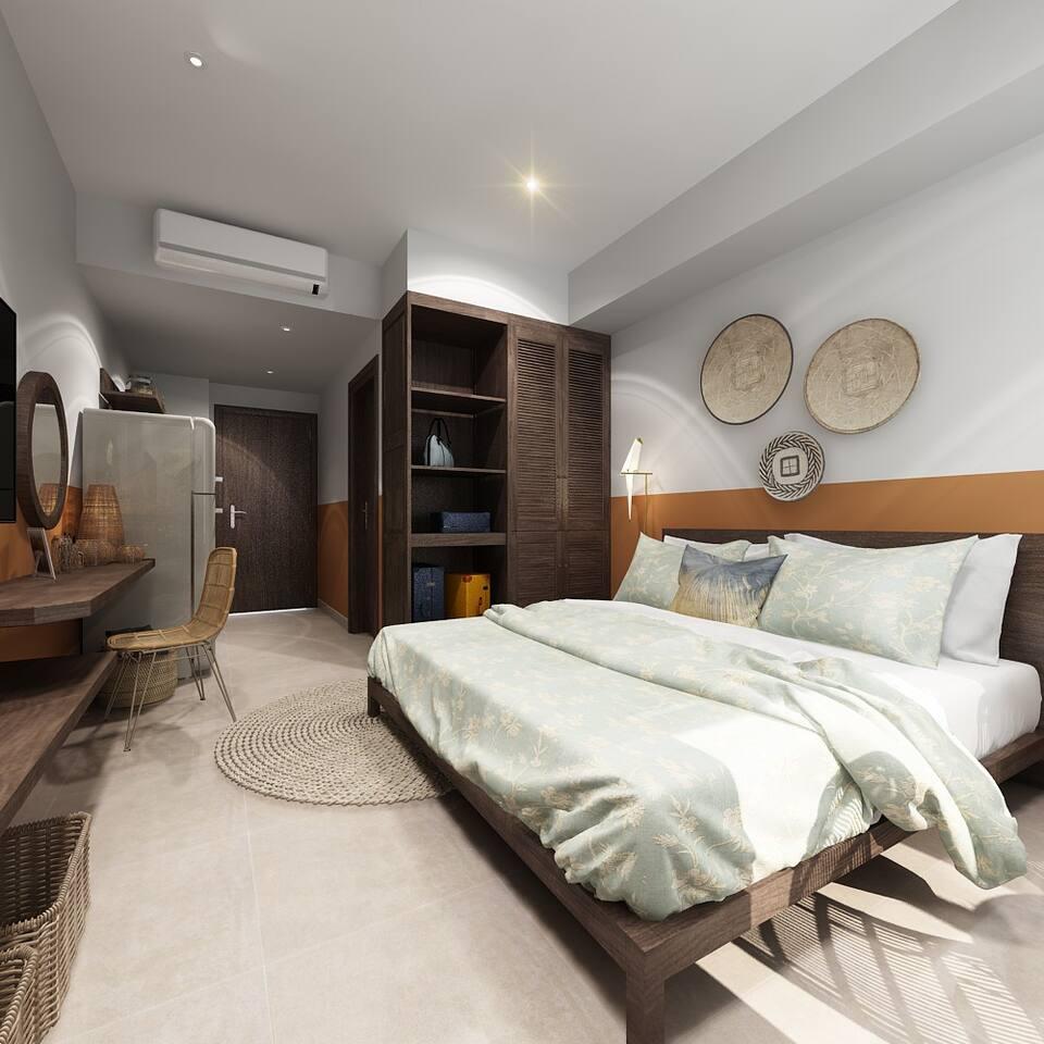 Luxury studio near Bui Vien st. Ben Thanh market