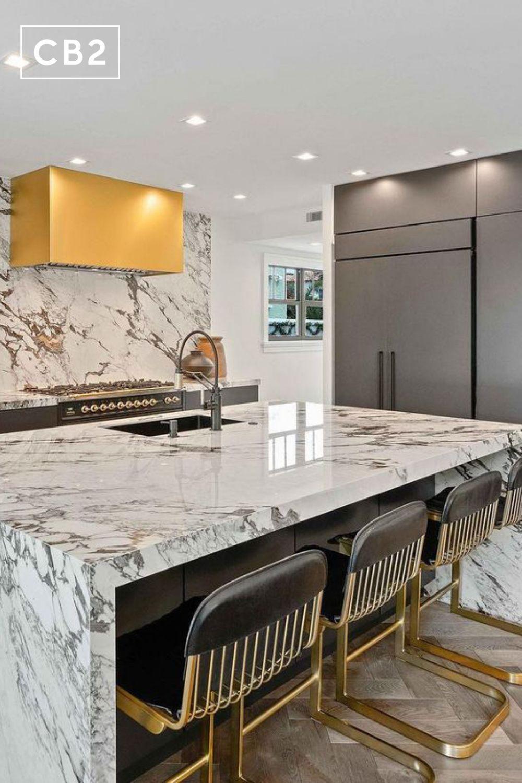 320 Kitchen Ideas In 2021 Cb2 Modern Kitchen Overhead Lighting