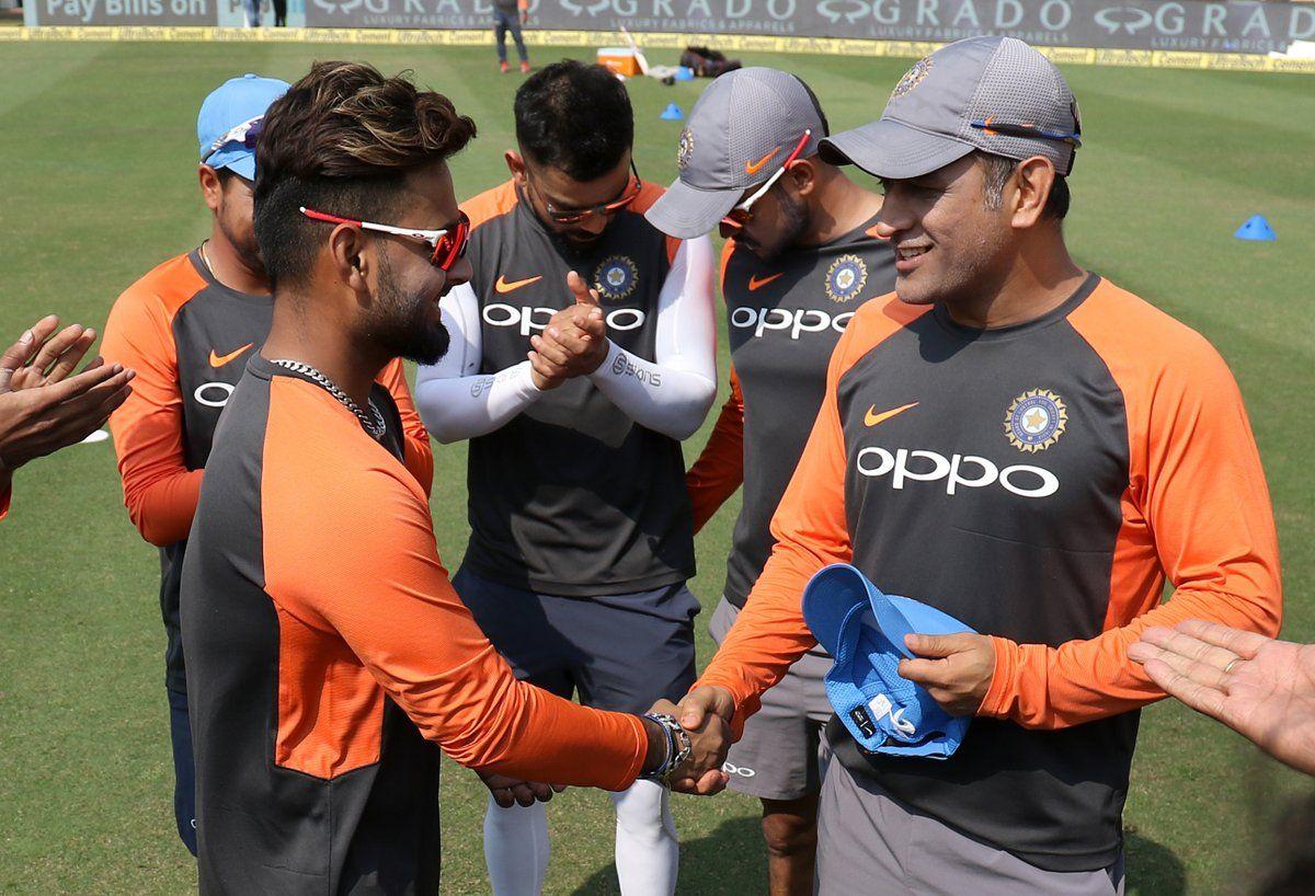 India vs West Indies 2018 Rishabh Pant Second