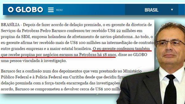 """BLOG DO IRINEU MESSIAS: Mega-ladrão da Petrobras é """"de carreira"""" e rouba d..."""