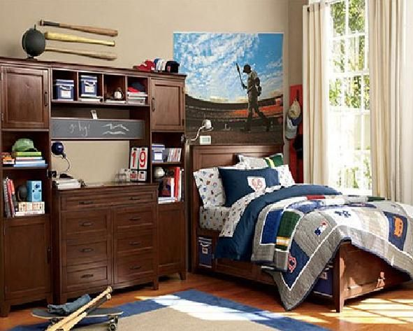 Cool and Comfortable Boys Room Ideas  Kids Room Design Decorating