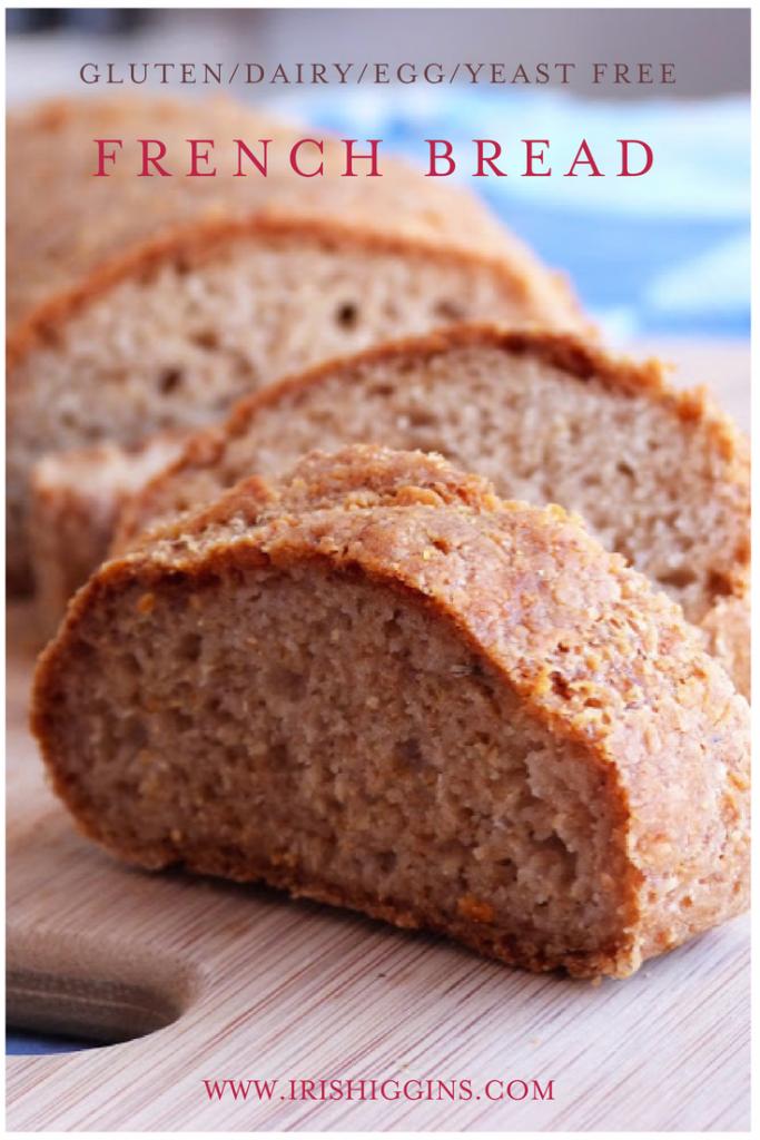 French Bread (Gluten/Dairy/Egg/Yeast Free)   Yeast free ...