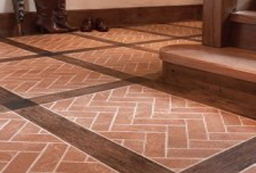 Brick Tile Flooring Type And Installation Feel The Home House