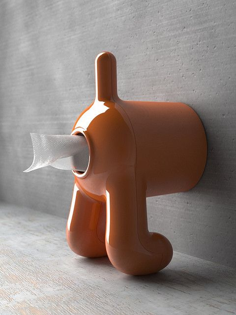 Funky Doggy Toiliet Paper Roll Holder
