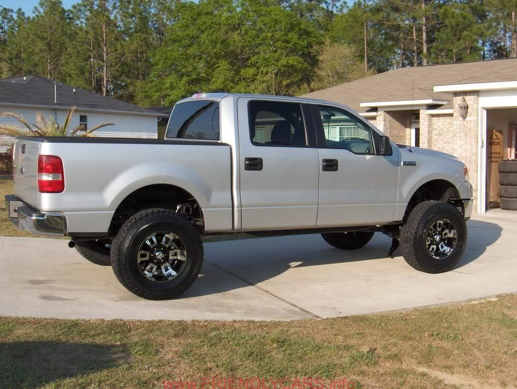 awesome 2005 ford f150 lifted car images hd pics of lifted 2wd trucks f150online forums - White 2005 Ford F150 Lifted