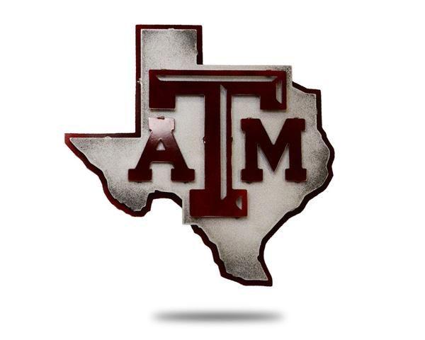 Texa A M 3d Metal Art Maroon On State Of 22 X 21 5 University Am Essay Prompts