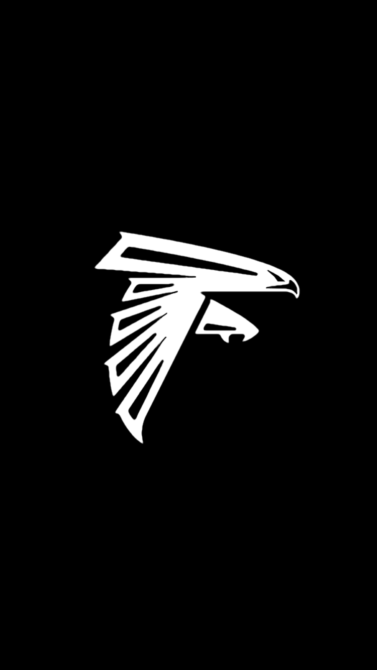 Minimalistic Nfl Backgrounds Nfc South Atlanta Falcons Football Atlanta Falcons Wallpaper Nfl Teams Logos