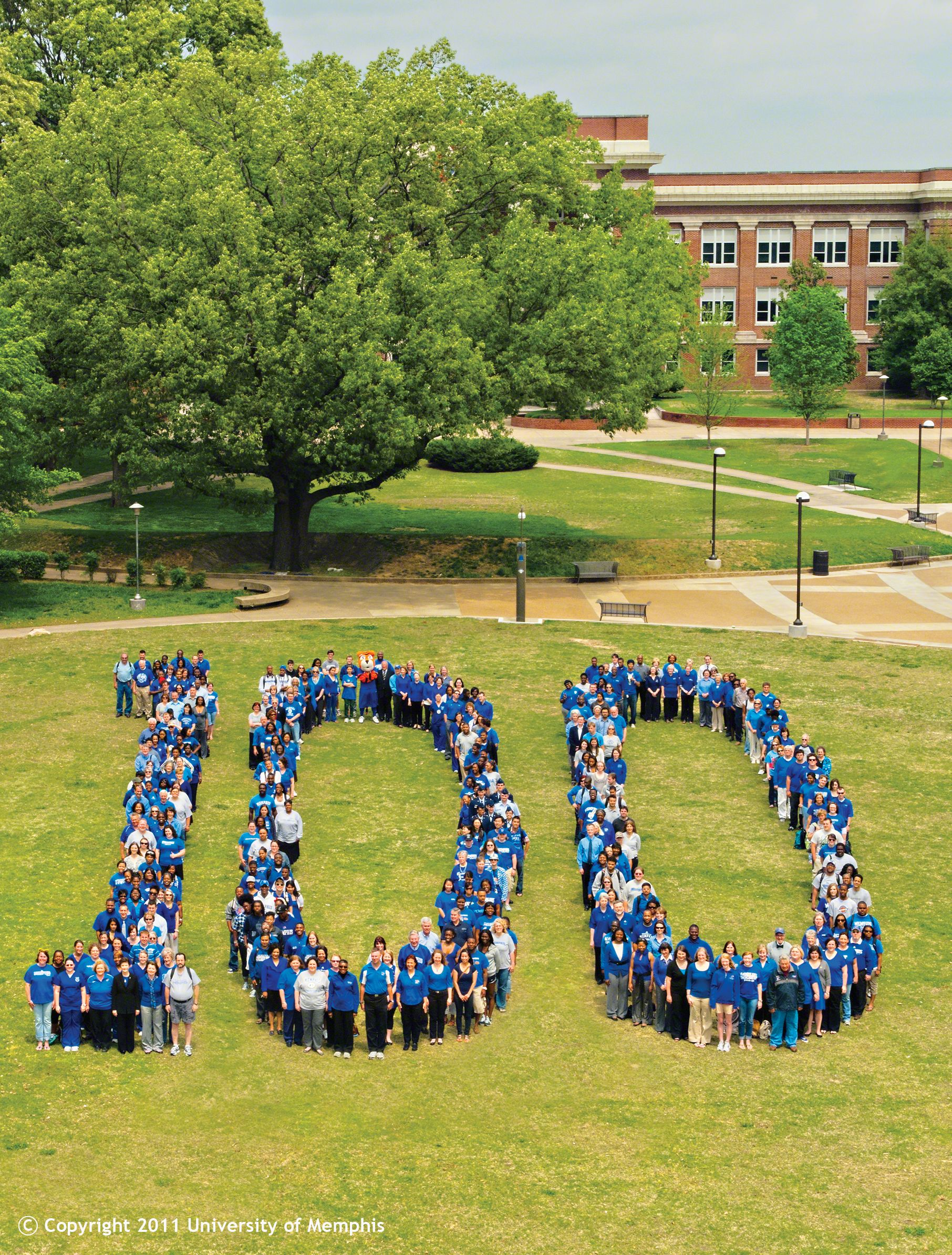 University Of Memphis 1912 2012 100 Years Memphis Tiger Town Memphis Tigers