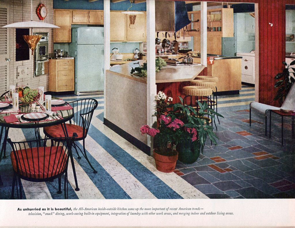 Home modernizing indoor outdoor kitchen mid century and kitchens