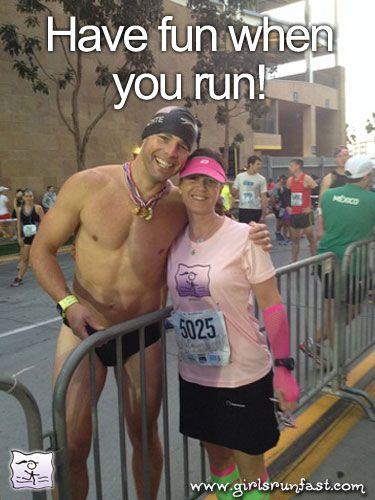 Have FUN when you run! #girlsrunfast