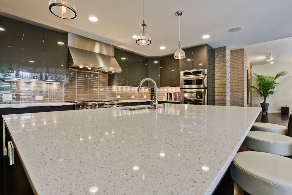Pearl White Quartz For Kitchen Countertops From History Stone