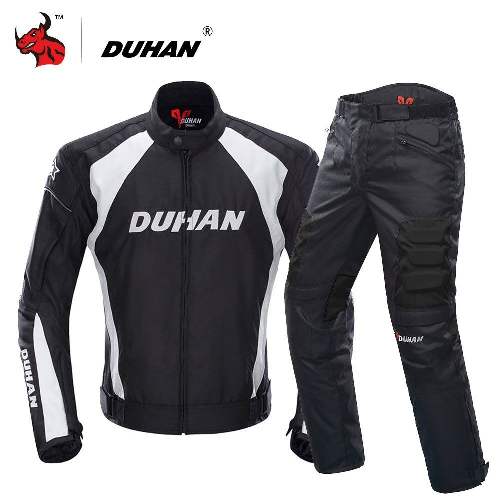Motorcycle Armor Jacket Motorbike MTB Motocross Racing+Removable Protective gear