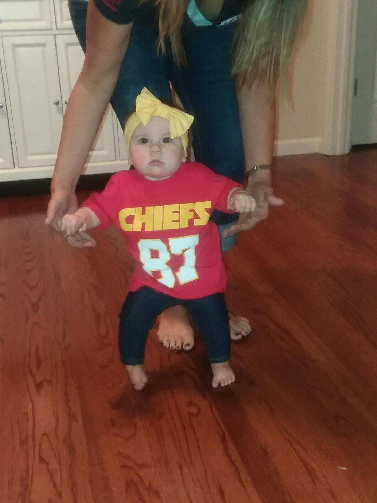Pin by Tracy Hendrix on Football Chiefs baby!! Baby