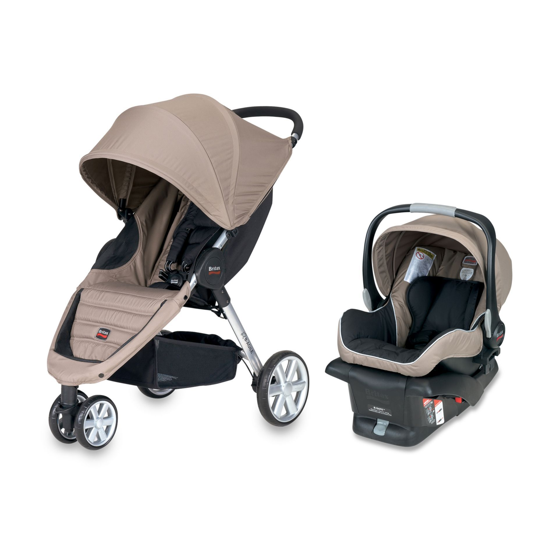 Britax BAgile Travel System Sandstone a little pricey