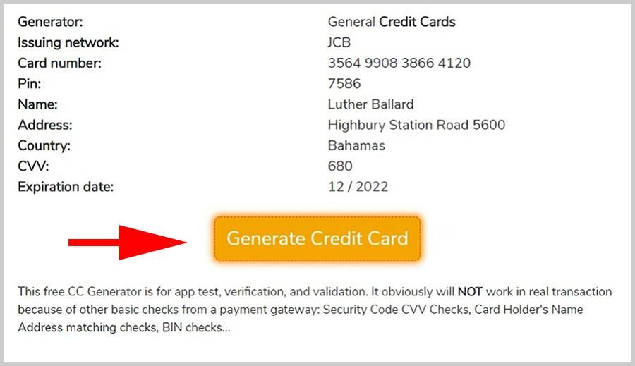 11 Easy Ways To Facilitate Credit Card Generator Netflix Credit Card Generator Netflix Http Card Vistca Free Credit Card Visa Card Numbers Credit Card Info