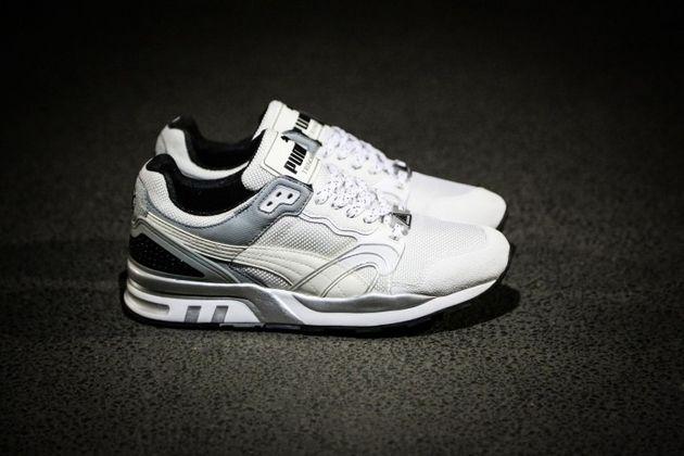 Puma Trinomic XT2 Plus Tech – White / Grey / Silver Metallic ...