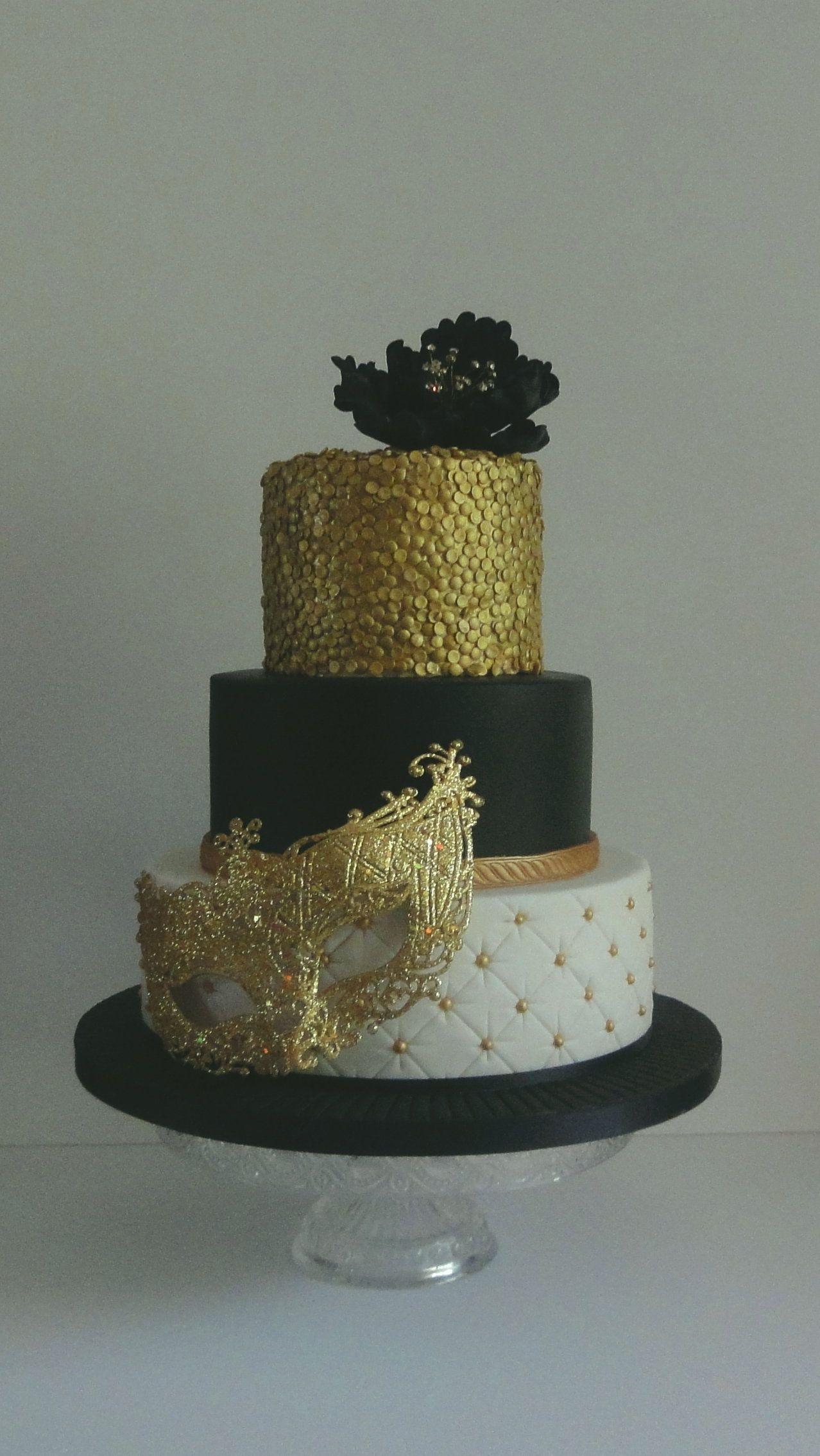 Masquerade Cake More Custom Cakes Pinterest Masquerade Cakes