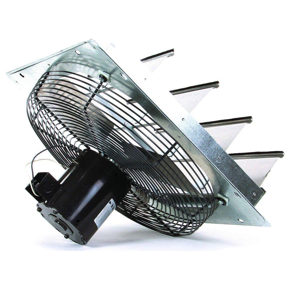 Dayton 1 20 Hp 16 Dia 115vacv Shutter Mount Exhaust Fan 17 Square Opening Required 1hla3 1hla3 Grainger Exhaust Fan Fan Square