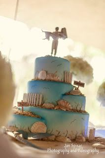 Cakery Creation Beach Wedding Cakes In Daytona