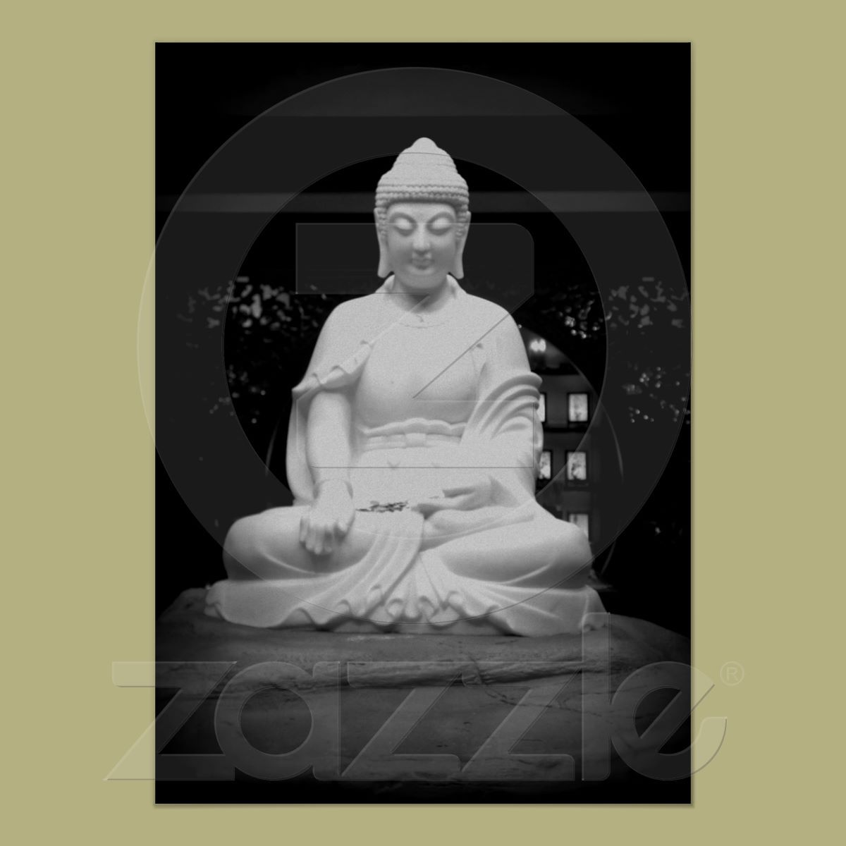 Buddha Print from Zazzle.com