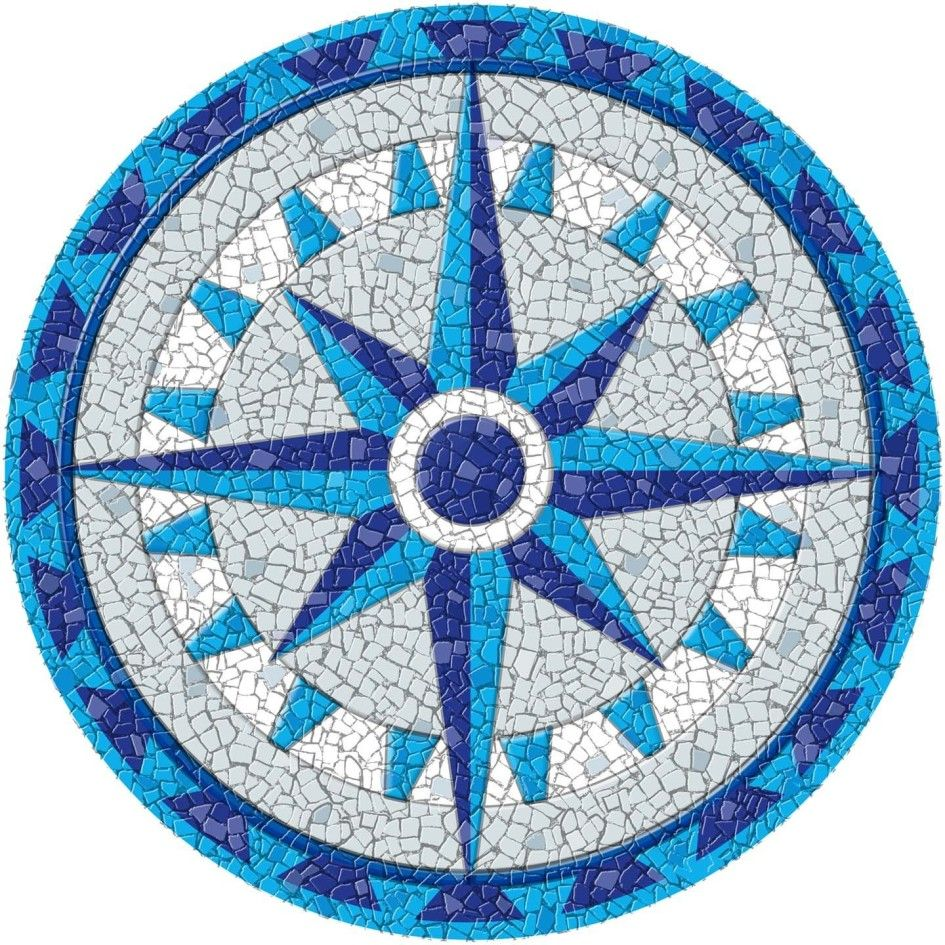 Entrancing Drop In Pool Mosaics With Comp Mosaic Designs On Medallion Tile Patterns From Tiles Decks Coping