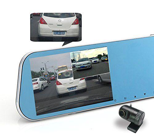 Anti-glare rearview mirror dash cam car accessories