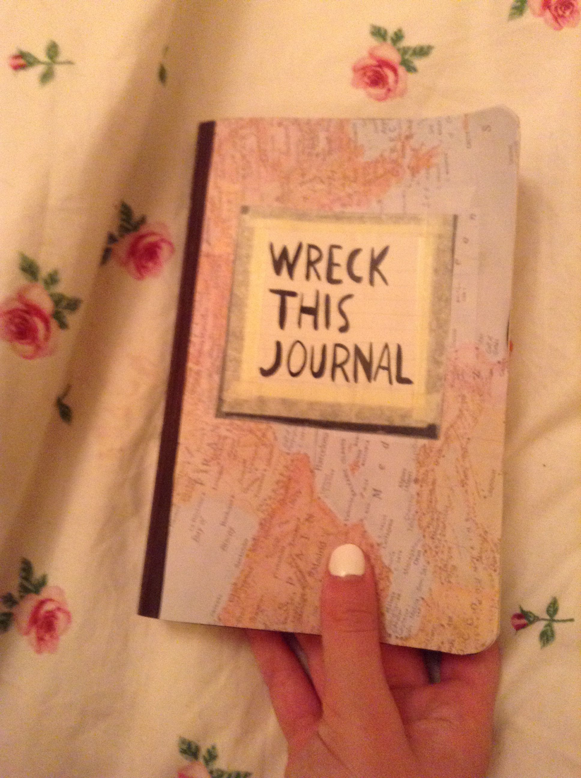 Wreck This Journal Book Cover Ideas : My wreck this journal cover