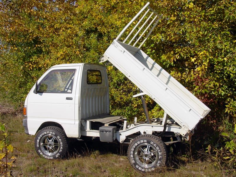 Daihatsu Hijet 4wd This Is What I Learned To Drive A Stick