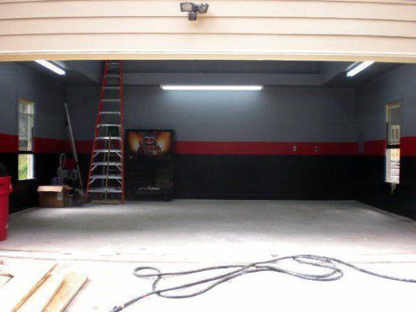 Top 70 Best Garage Wall Ideas Masculine Interior Designs Garage Design Interior Garage Paint Painted Garage Walls