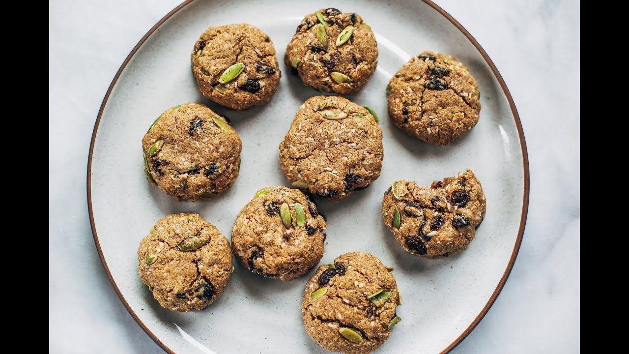 Homemade almond flour cookies paleo oatmeal cookies